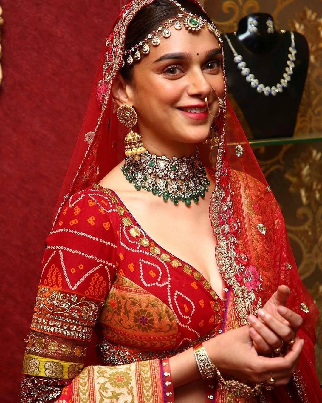 Aditi Rao Hydari Looks Ethereal As She Turns As A