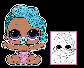 Lol Surprise Doll Coloring Pages Pagina 6 Colora A Sua Boneca De Surpresa Lol Favorita Lol Dolls Cool Coloring Pages Doll Party