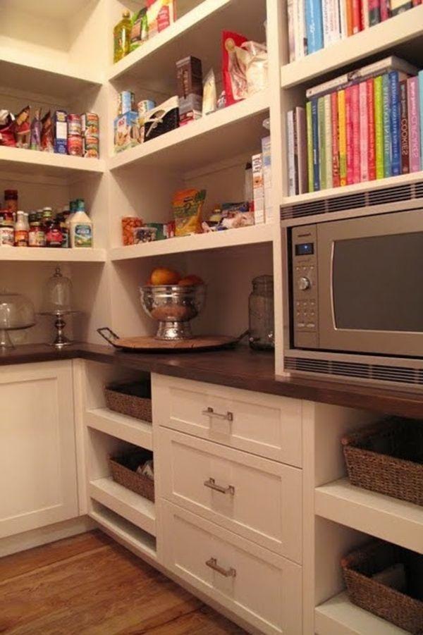 organisieren sie ihre speisekammer heute speisekammer schubladen und regal. Black Bedroom Furniture Sets. Home Design Ideas