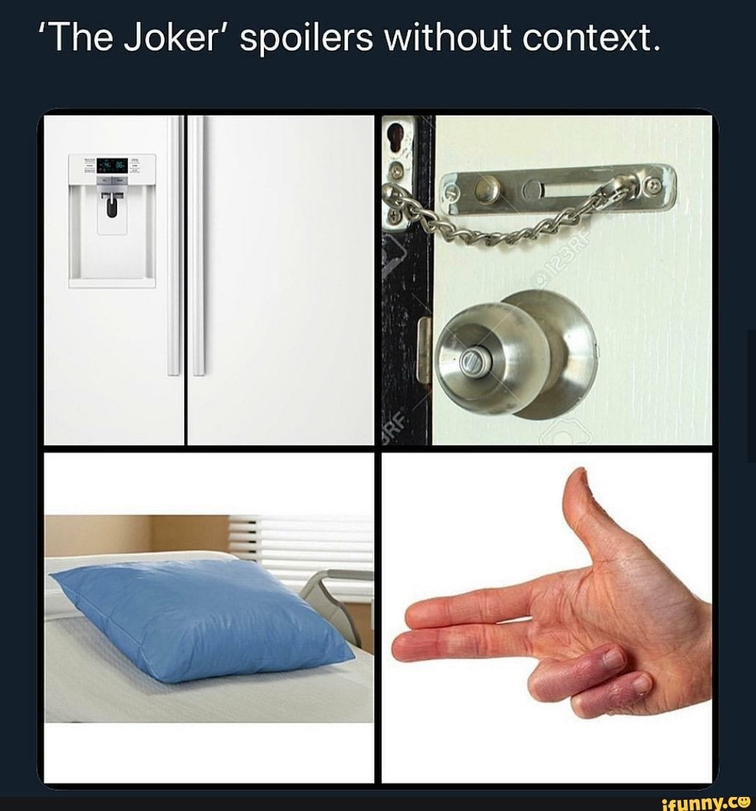 The Joker Spoilers Without Context Ifunny Funny Batman Memes Joker Ifunny