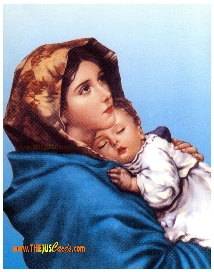 Popular Pictures Of Jesus Mother Mary And