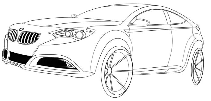 Luxury Concept Acura Coloring Page   Acura Car Coloring Pages