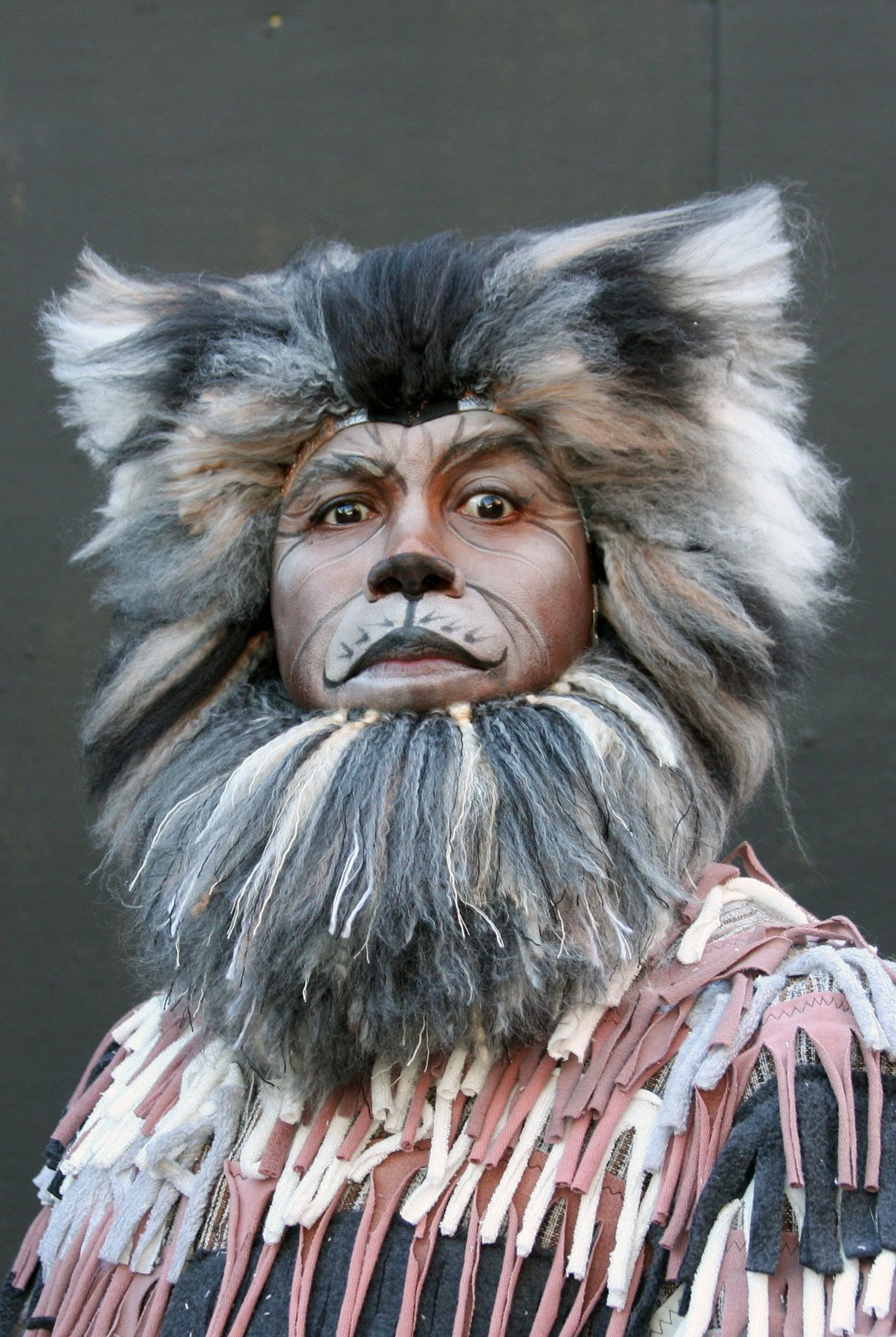 Old Deuteronomy Cat makeup, Great cat