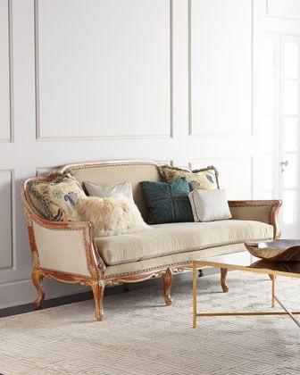Massoud Twilight Sofa In 2019 As Seen On Neimanmarcus Com Sofa
