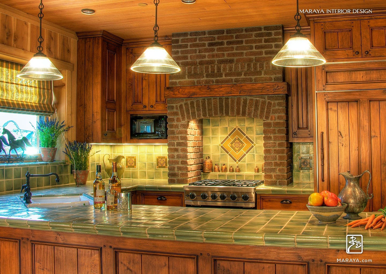 Ideen für küchenhauben horse groomerus barn cottage kitchen brick range hood planked