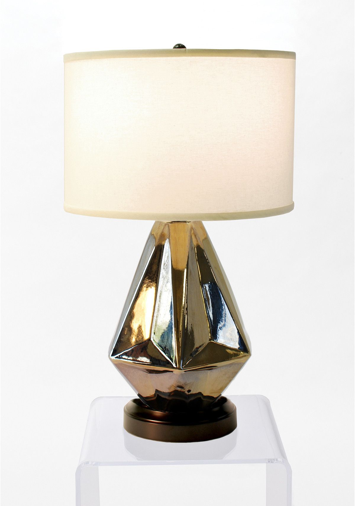 Prisma Bronze Cordless Lamp   Made In The USA