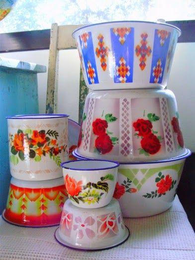 Colorful Kitchen Supplies: Vintage Kitchen Accessories, Vintage