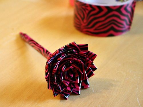 Duct tape rose instructions pdf