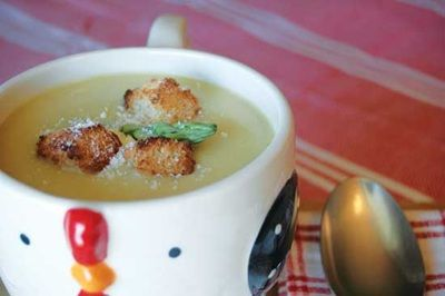 Cream of Asparagus Soup Recipe