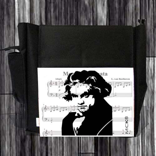Un morral para quienes gustan de Beethoven.