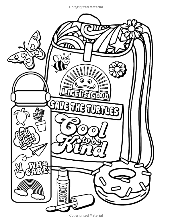 Vsco Coloring Pages Printable