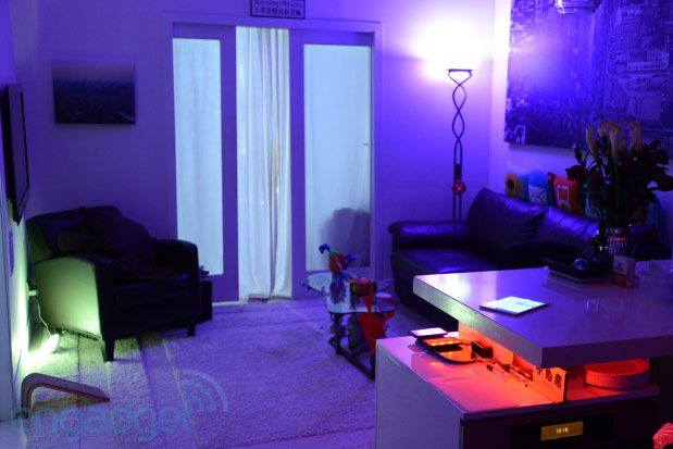 Lightscaping At Home With Philips Hue Lightstrips And Bloom Hands