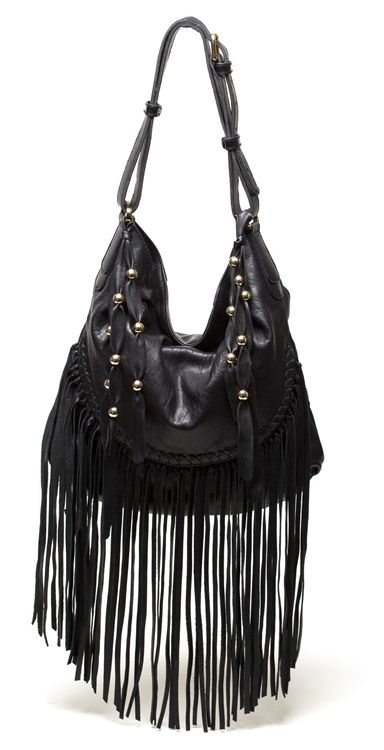 569a6a785c SO Loving the Fringe !! CC SKYE Jade Fringe Handbag in Black Leather!!!! I  DIE !! www.swankatlanta.com