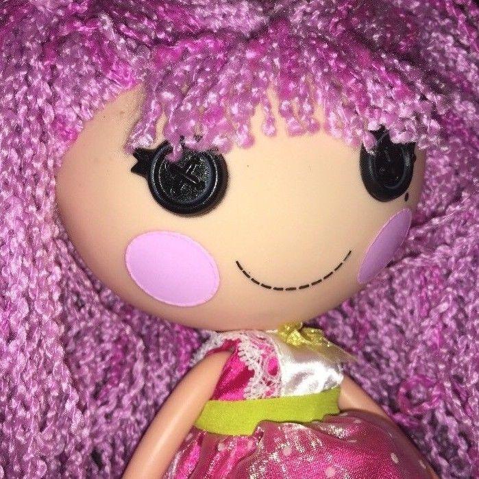 Lalaloopsy Full Size Peanut Big Top Loopy Purple Yarn Hair Doll ...