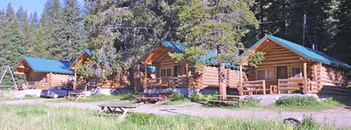 Yellowstone cabins, I stayed in this neighborhood :) It was more isolated though, it was absofruitly amazing