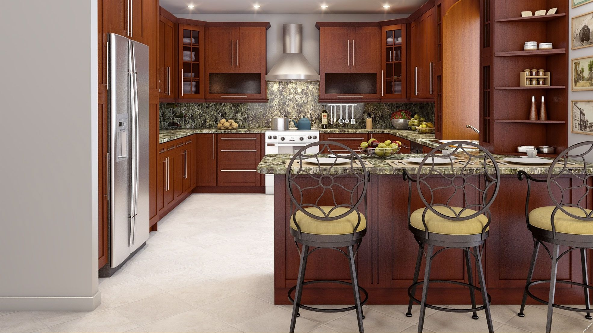 Kitchen cabinets discount rta cabinet traditional with home design