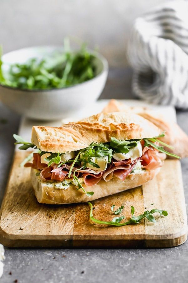 Jambon Beurre Sandwich (Ham, Butter and Brie Sandwich) - Cooking for Keeps