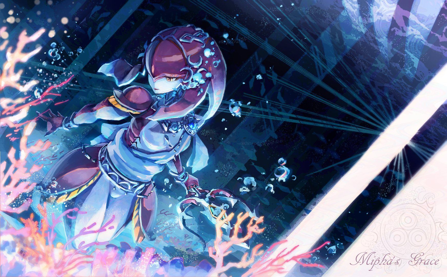 Video Game The Legend Of Zelda Breath Of The Wild Mipha The Legend Of Zelda Wallpaper Legend Of Zelda Legend Of Zelda Breath Breath Of The Wild