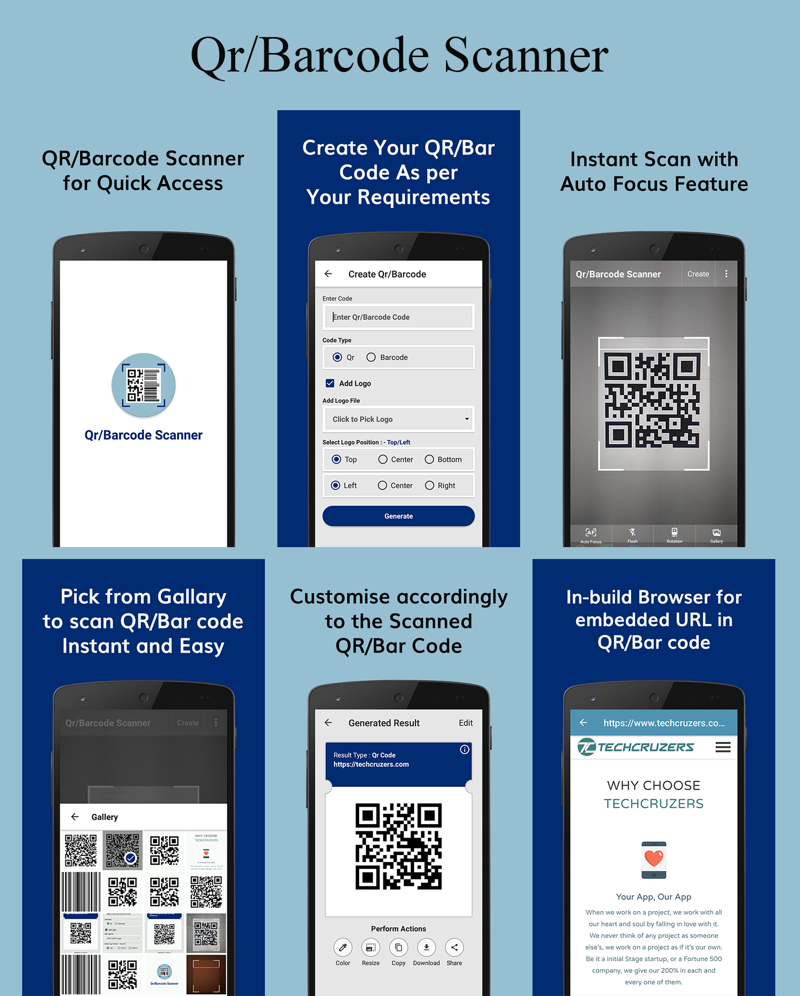 QR/Barcode Product Scanning App Scan any prodcut indian