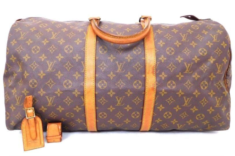 3379963748f5 Keepall 55 Brown Monogram Travel Bag. Louis Vuitton ...