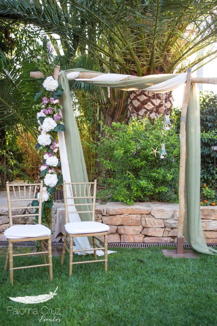 Decoraci n boda ceremonia civil centros de mesa boda en for Adornos para boda civil