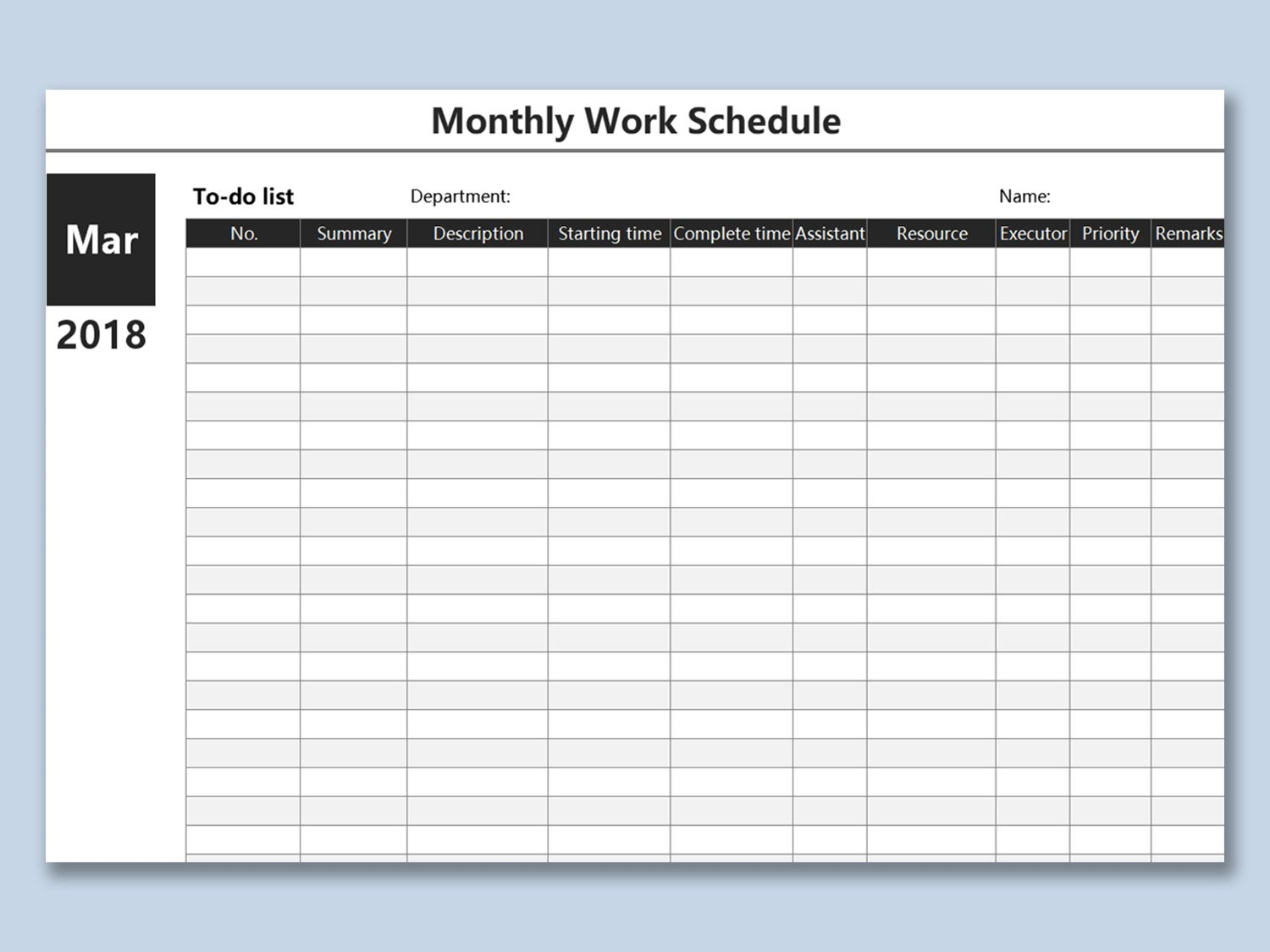 Spreadsheet Work Schedule Out Templates Template Ly Excel Regarding Blank Monthly Work Schedule Temp In 2020 Schedule Template Work Planner Business Card Template Word Monthly work schedule template excel