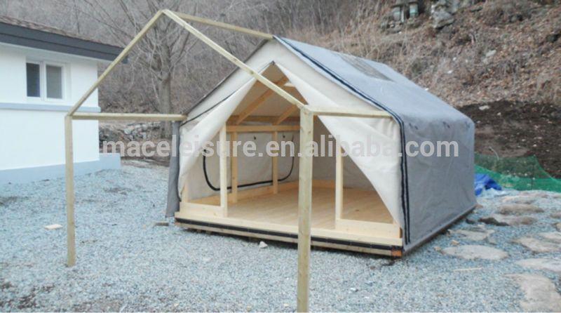 100% canvas u0026 waterproof permanent outdoor gl&ing tent / outdoor shelter tent View permanent & 100% canvas u0026 waterproof permanent outdoor glamping tent / outdoor ...