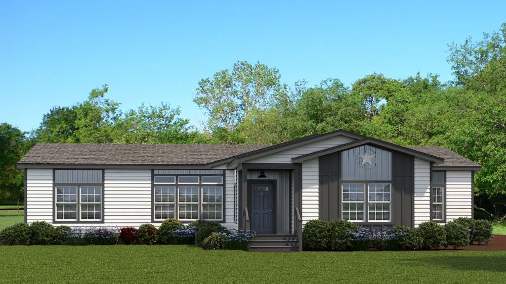 View The Vintage Farmhouse Flex Floor Plan For A 2302 Sq Ft Palm Harbor Manufactured Home In Austin Texas In 2020 Vintage Farmhouse Houses In Austin Floor Plans