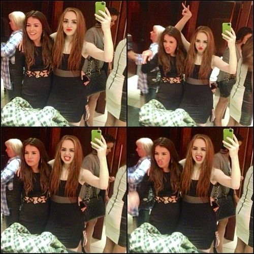 Aimee and louisa lol they're funny