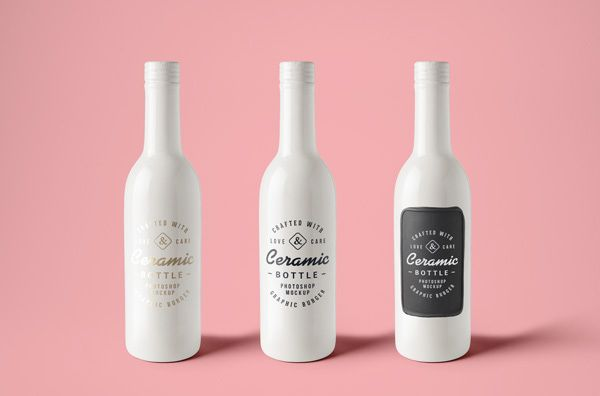105+ Product Packaging Mockups (Free \ Premium) Mockup, Product - free wine label design