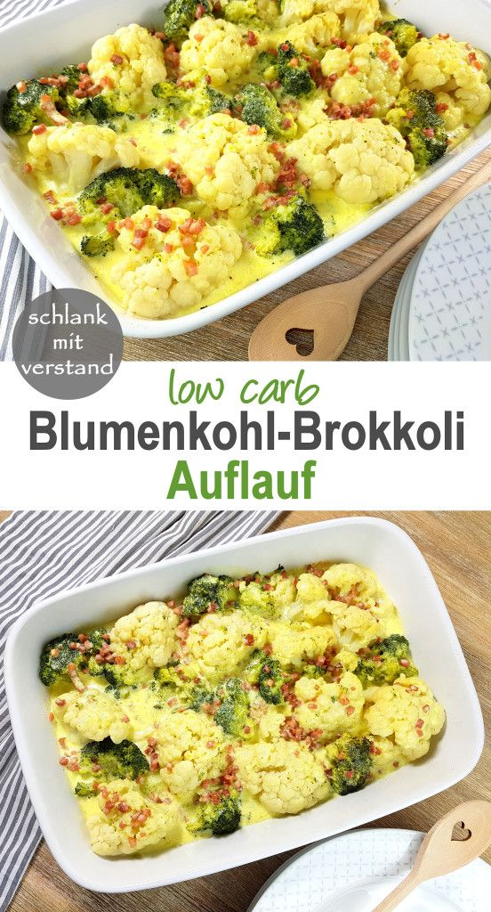 Photo of Cauliflower broccoli bake low carb
