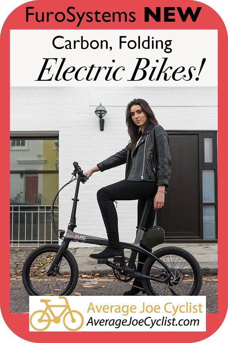 FuroSystems New Carbon Frame E-Bikes – Folding and Mountain E-bike