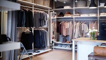 Ikea Begehbarer Kleiderschrank begehbarer kleiderschrank planen schranksysteme und