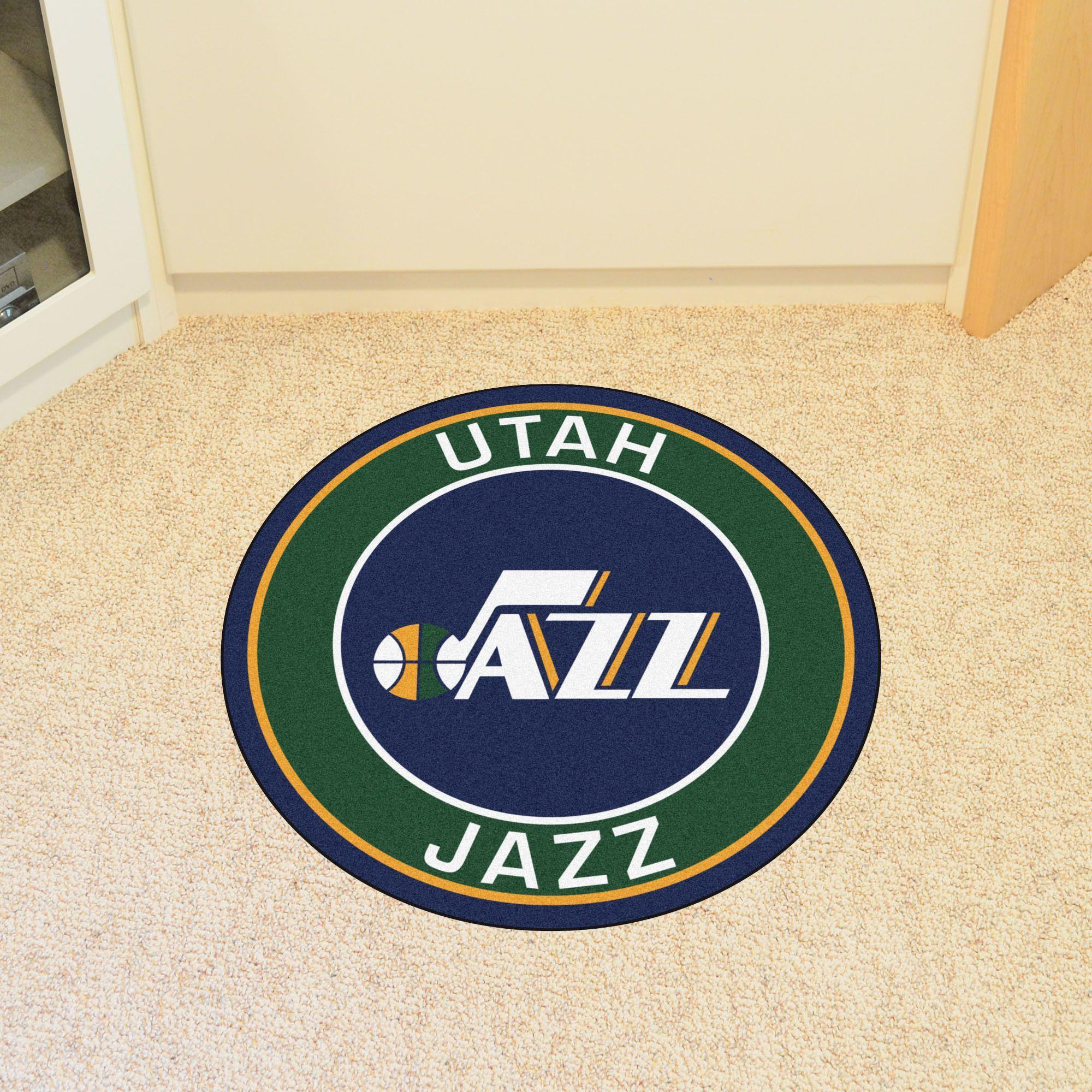 NBA Utah Jazz Roundel Mat
