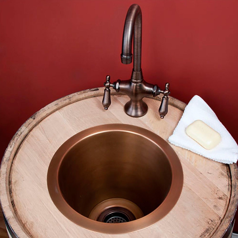 12 Quot Creed Extra Deep Copper Bar Sink Copper Bar Sink Bar Sink Sink