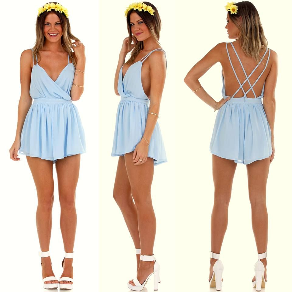 Ophelia playsuit $58 + free express shipping Shop now…