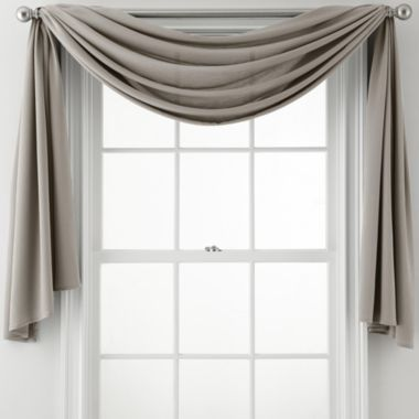 Closeout Royal Velvet Ally Window Scarf Dining Room Curtains Dining Room Windows Window Scarf