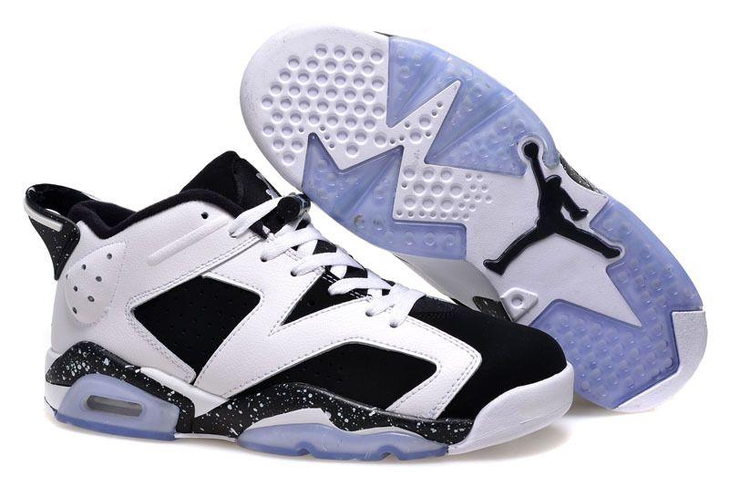 3ae37faf24295d Girls Air Jordan 6 Low Oreo Shoes For Sale Online