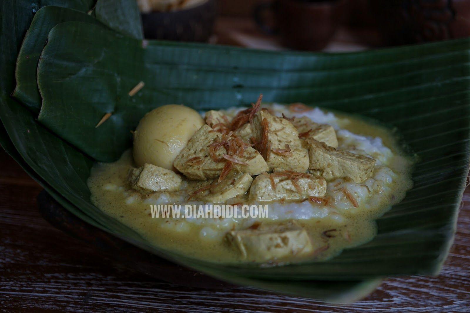 Diah Didi S Kitchen Bubur Sayur Ndeso Makanan Memasak Resep Makanan