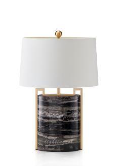 Lightingestmoedn american example simple black marble metal table lightingestmoedn american example simple black marble metal table lamp mozeypictures Images