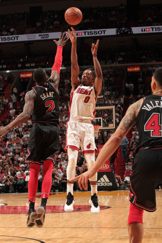 Heat Top Bulls 10392 Heat, Miami heat basketball, Miami