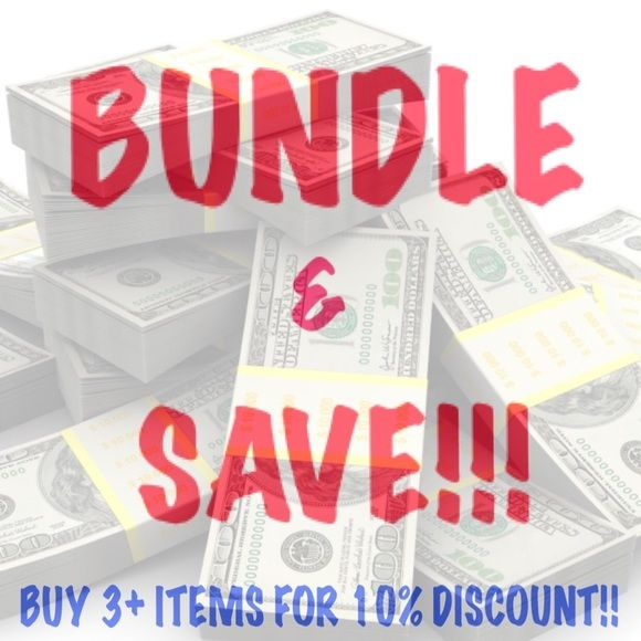 Let me bundle it for you!!  Other