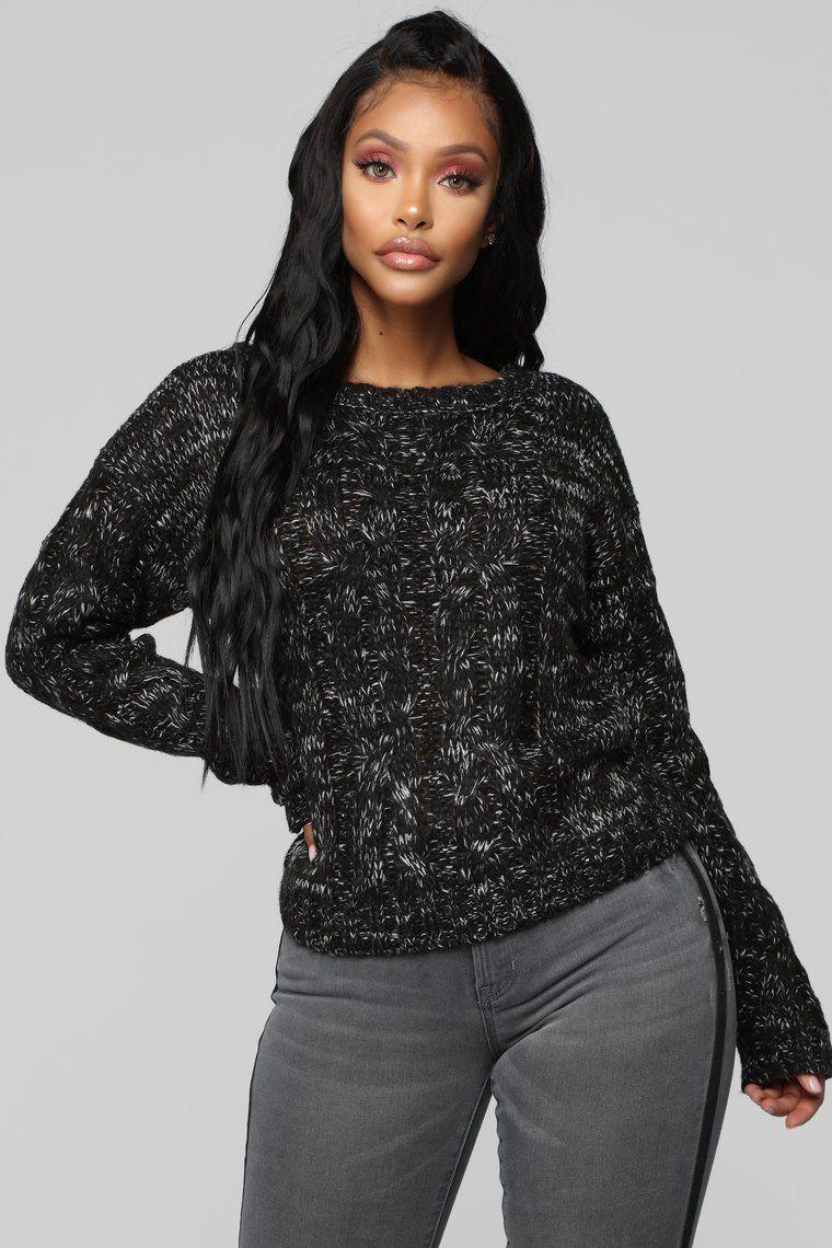 02229aa41 Katrina Cozy Sweater - Black