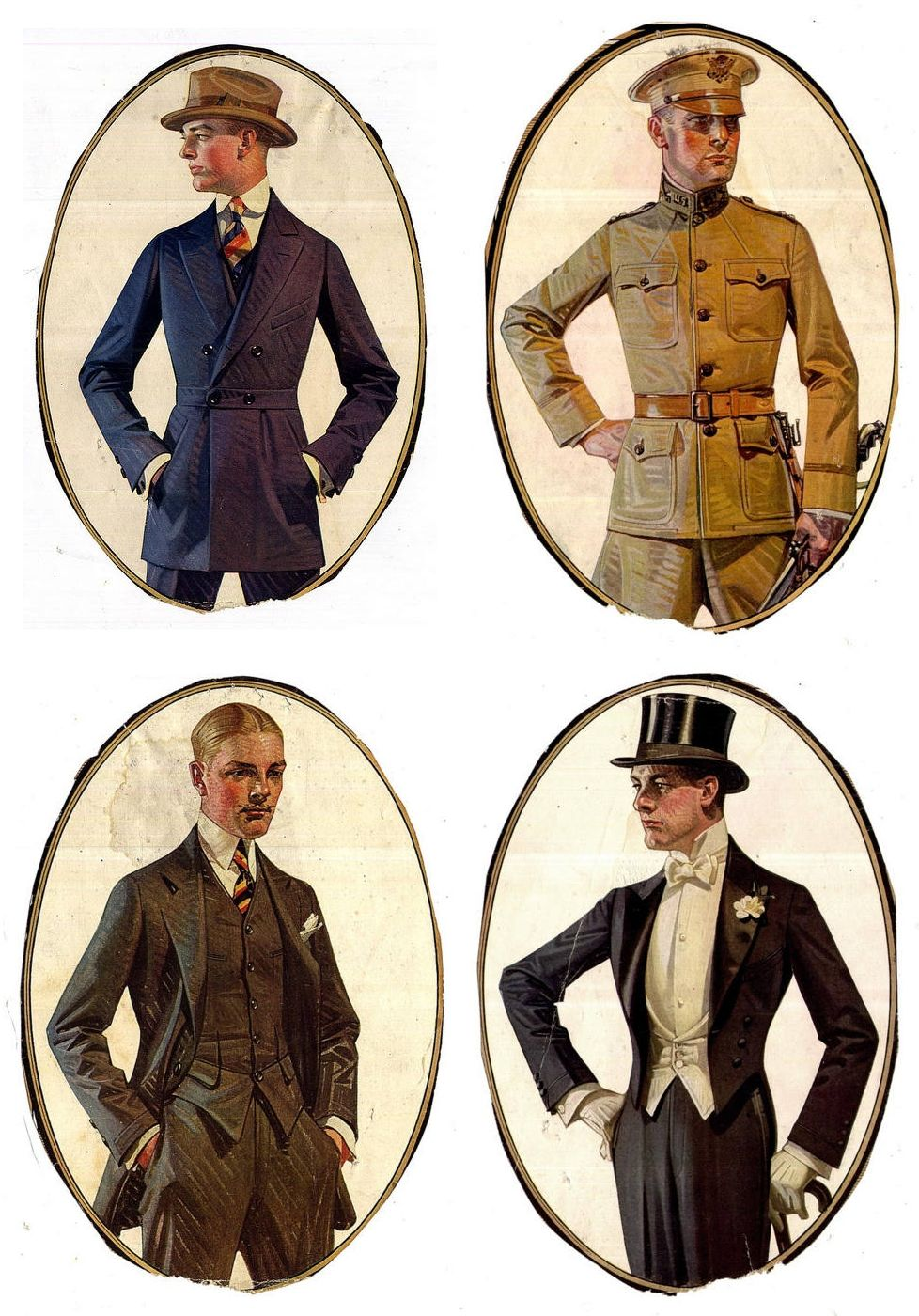 Gentlemen by JC Leyendecker