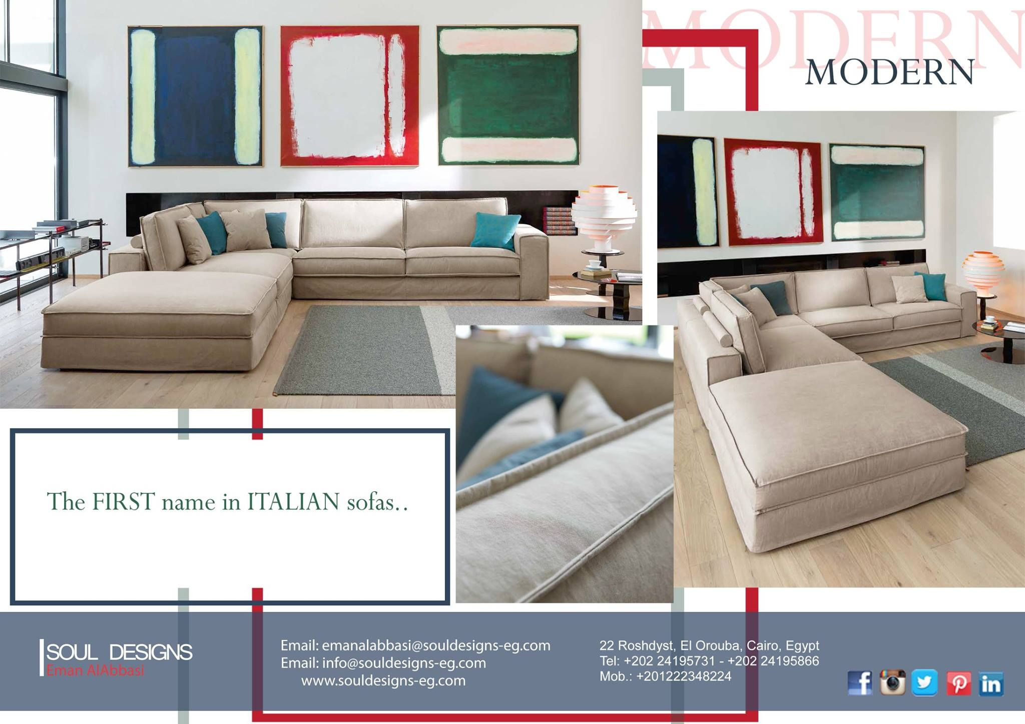 The First Name In Italian Sofas Italian Sofa Soul Design Design Your Home