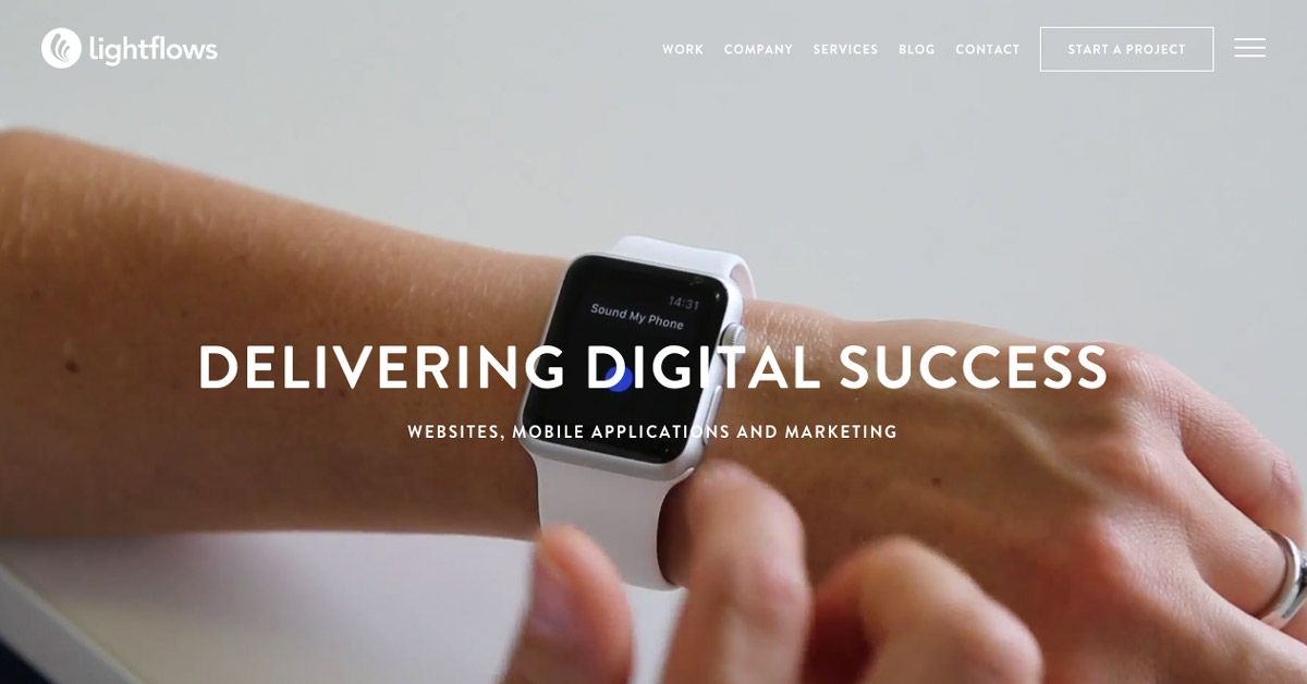 Lightflows Is A Digital Marketing Agency Based In Guildford That Provides Web Design App Development And Web Design Digital Agencies Digital Marketing Agency