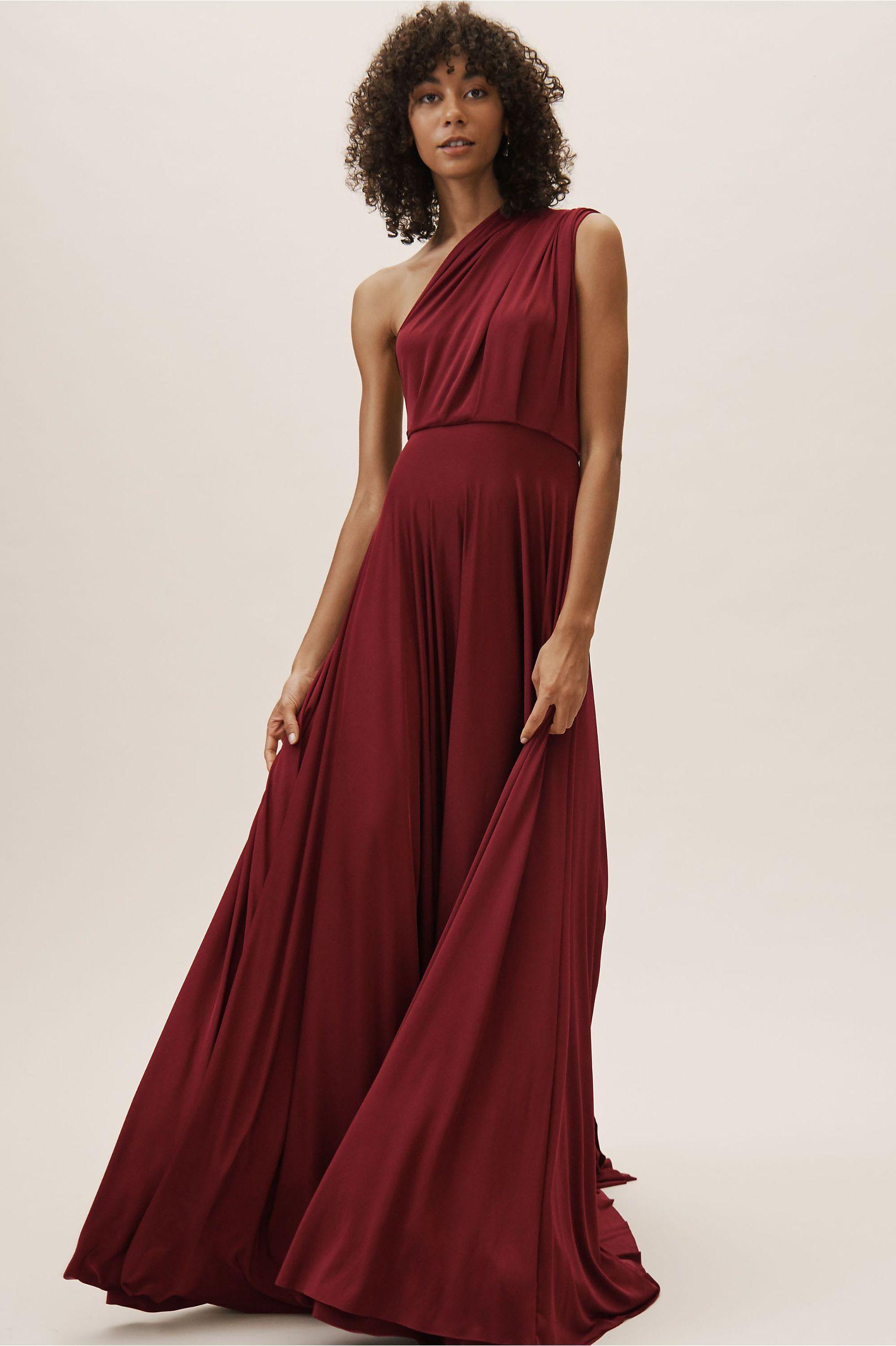 0060895e37e Ginger Convertible Maxi Dress Bordeaux in Bridesmaids   Bridal Party ...