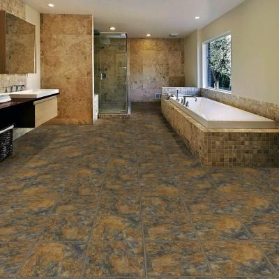 Trafficmaster Ashlar 12 In W X 36 In L Luxury Vinyl Tile Flooring 24 Sq Ft Case 211713 The Home Depot Vinyl Tile Flooring Luxury Vinyl Tile Flooring Vinyl Tile