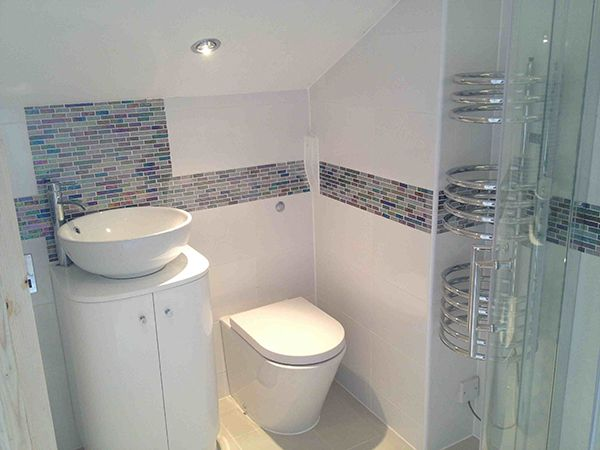 The Best When Fully Tiling A Bathroom Floor Or Wall First And Description In 2020 Fully Tiled Bathroom Bathroom Installation Small Bathroom