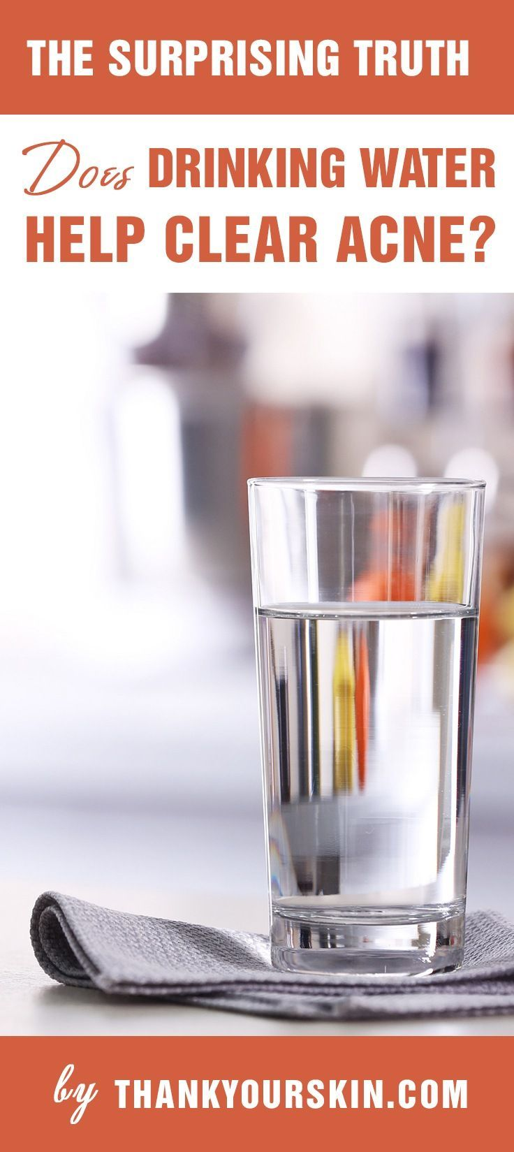 Does Drinking Water Help Clear Acne? (Hint: Yes!)